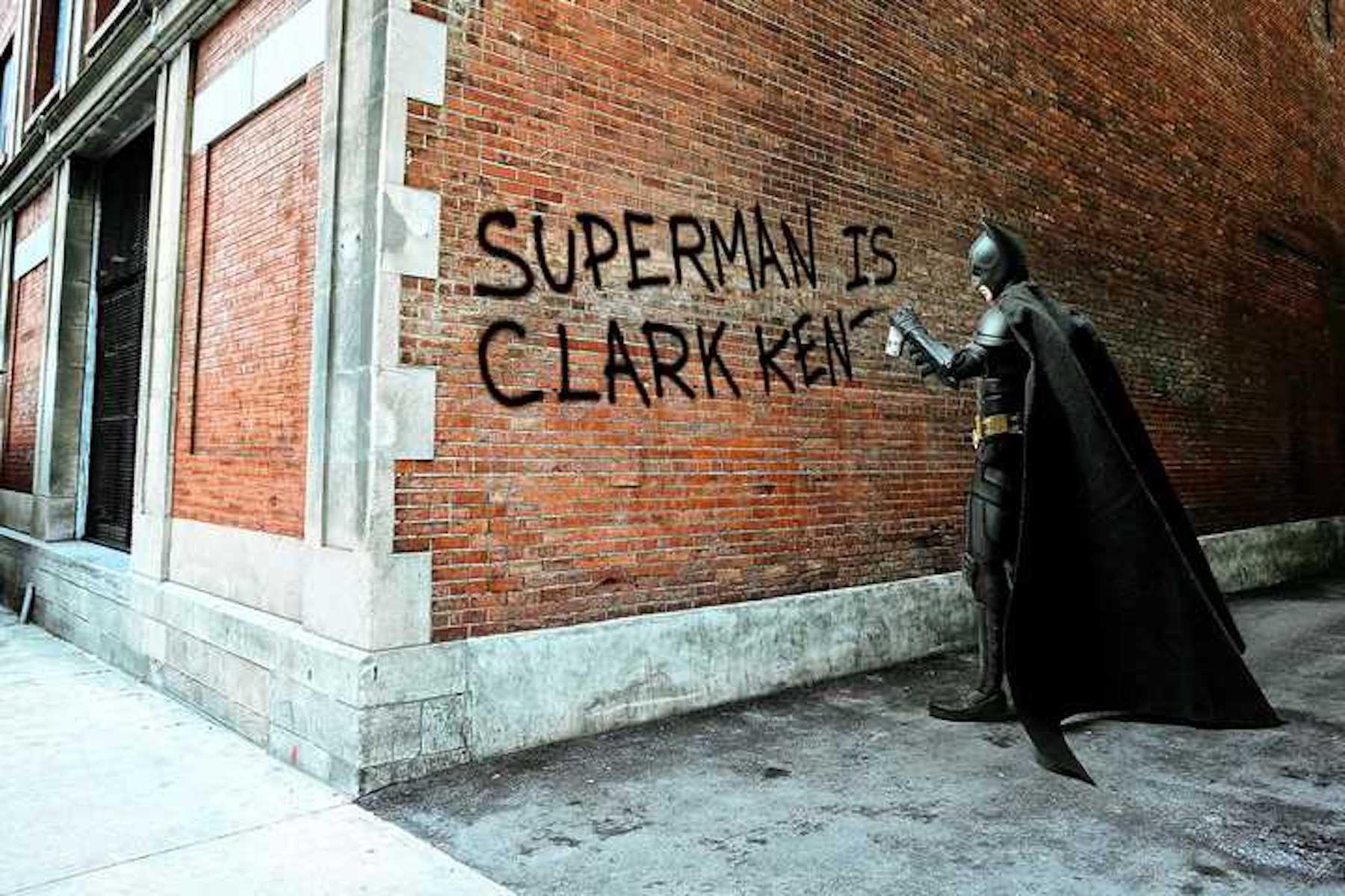 © Daniel Picard, Clark Kent Graffiti, 2017
