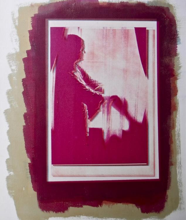 Frances Patella, Sedition, gum bichromate on paper, 2011