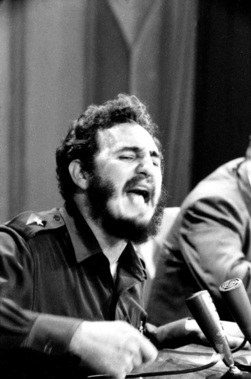 Jerry Schatsberg, Fidel Castro, 1959