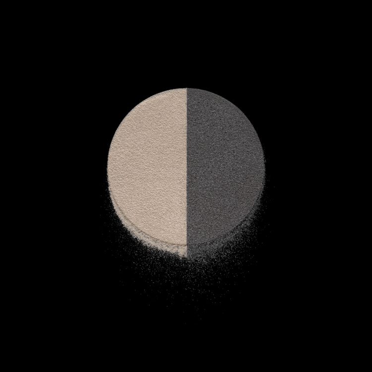 Spring Hurlbut , Dyadic Circles: Barley and Cujo 1, 2019. Courtesy Georgia Scherman Projects.