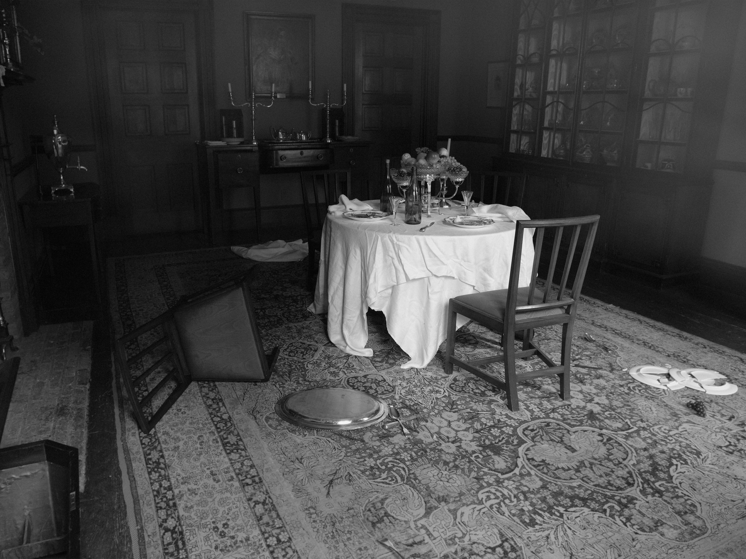 Tereza Zelenkova, Dining Room II, Campbell House, 2020. Courtesy the artist and The Ravestijn Gallery, Amsterdam