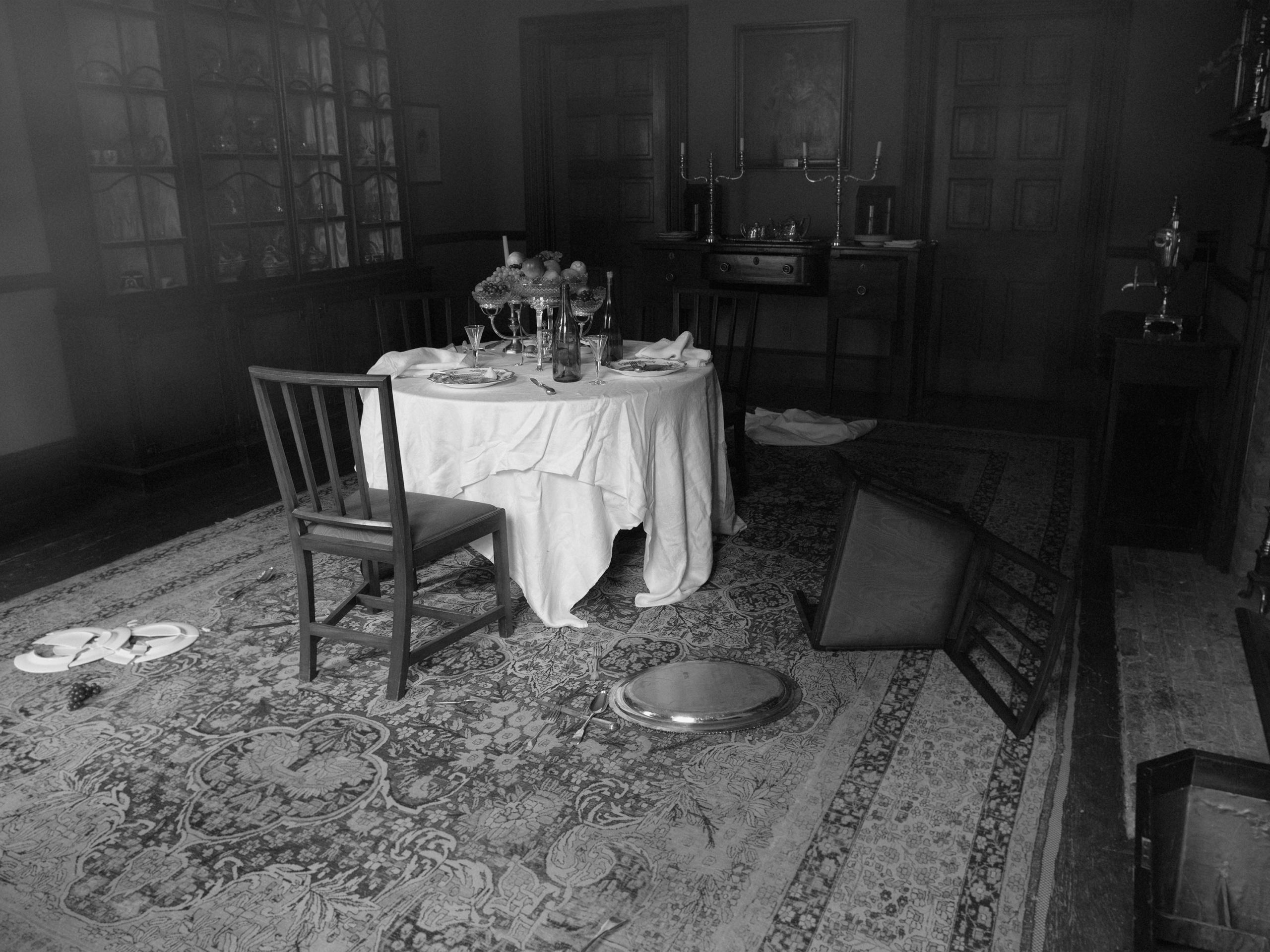 Tereza Zelenkova, Dining Room I, Campbell House, 2020. Courtesy the artist and The Ravestijn Gallery, Amsterdam