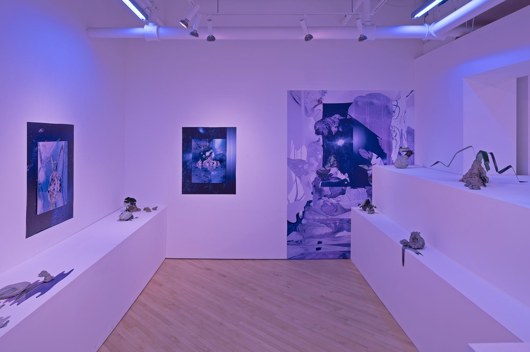 Felicity Hammond, Arcades, Exhibition at CONTACT Gallery, April - June 2018. Photo by Toni Hafkenscheid.