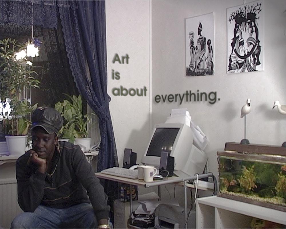 Esther Shalev-Gerz, The Place of Art, 2006. Video still. Courtesy of the artist.