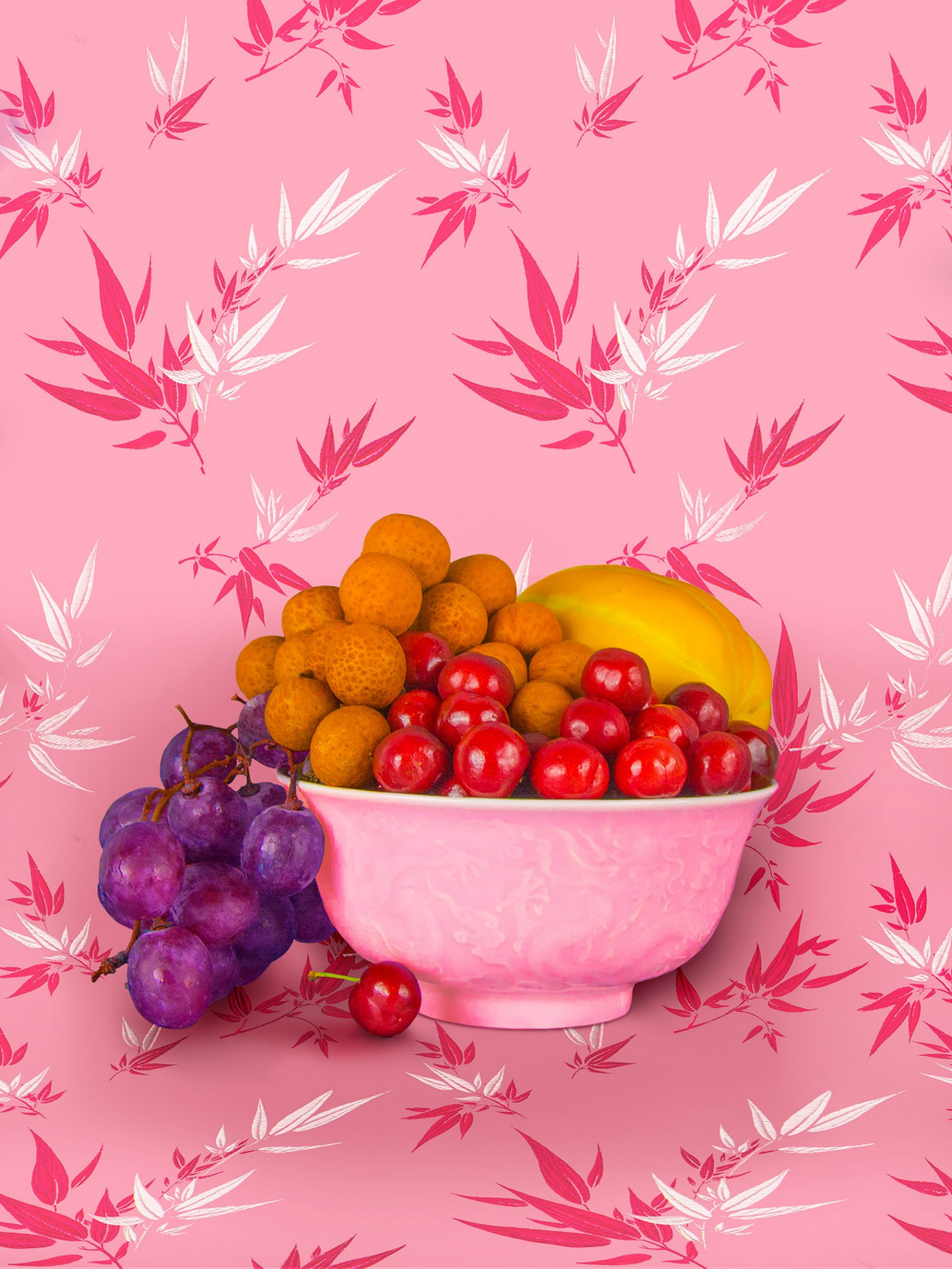Shellie Zhang, Still Life with Berries, 2018-2019. Courtesy of the artist.