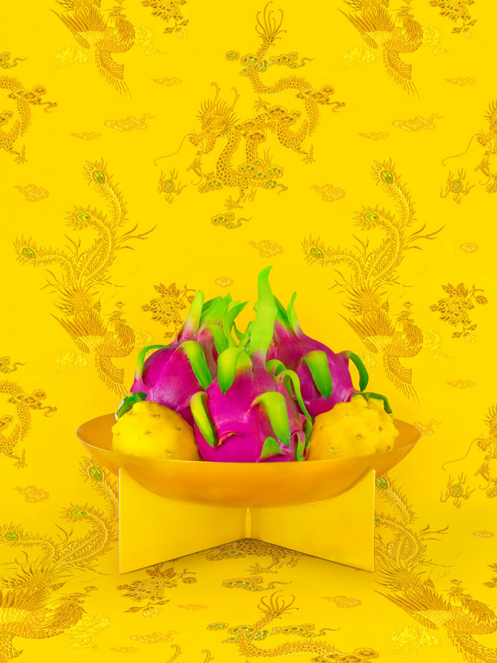 Shellie Zhang, Still Life with Dragonfruit, 2018-2019. Courtesy of the artist.