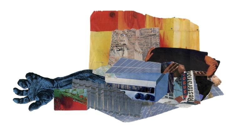 Aaron Jones, Energy Restoration, 2019. Courtesy of the artist and Zalucky Contemporary.