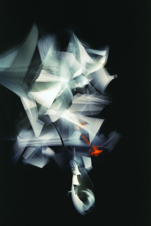 Adam Swica, White to Orange Reflex, 2018. Archival pigment print, 54 × 36