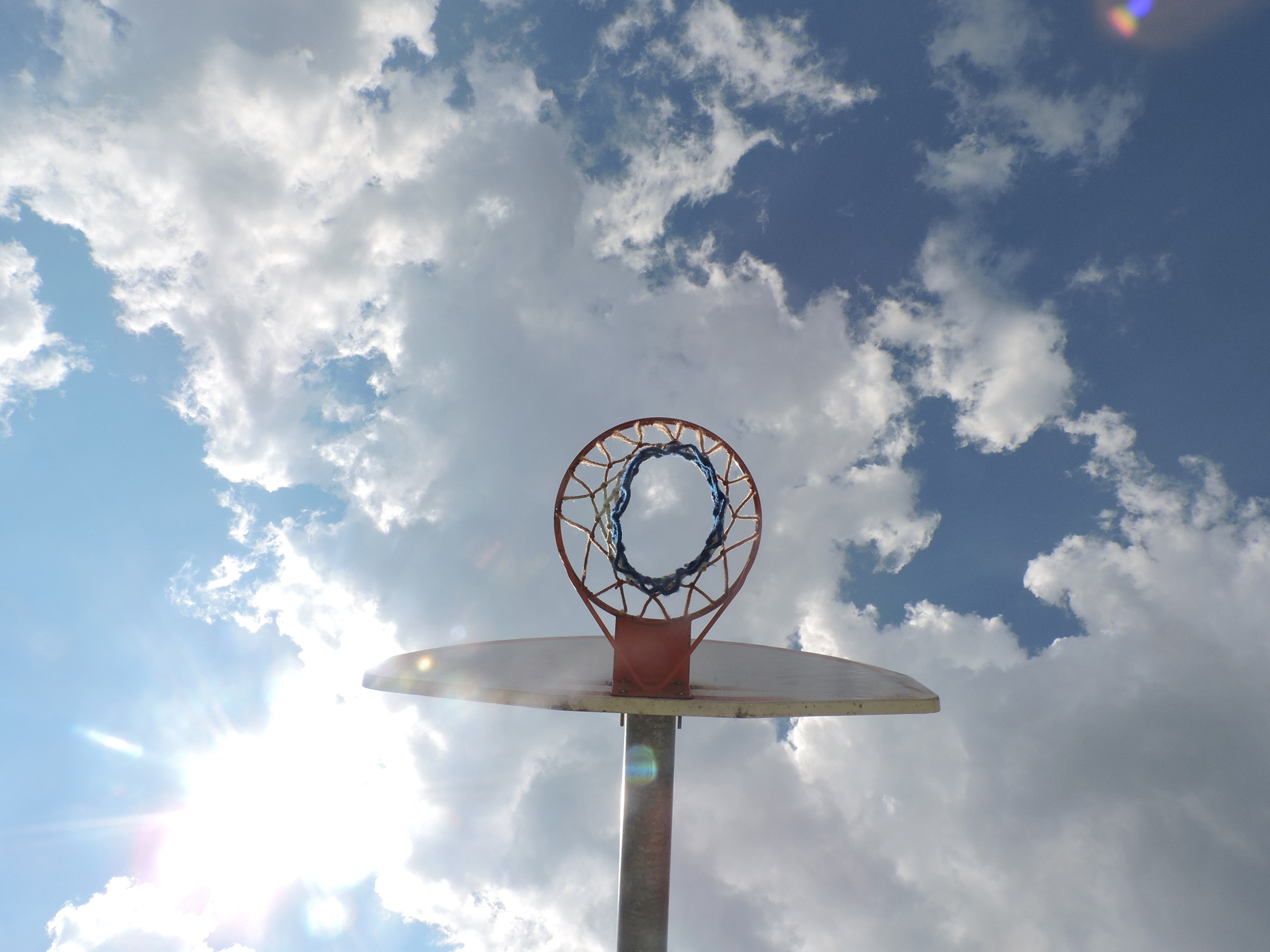 Luella Price Alegre,, High-flying basket., 2017