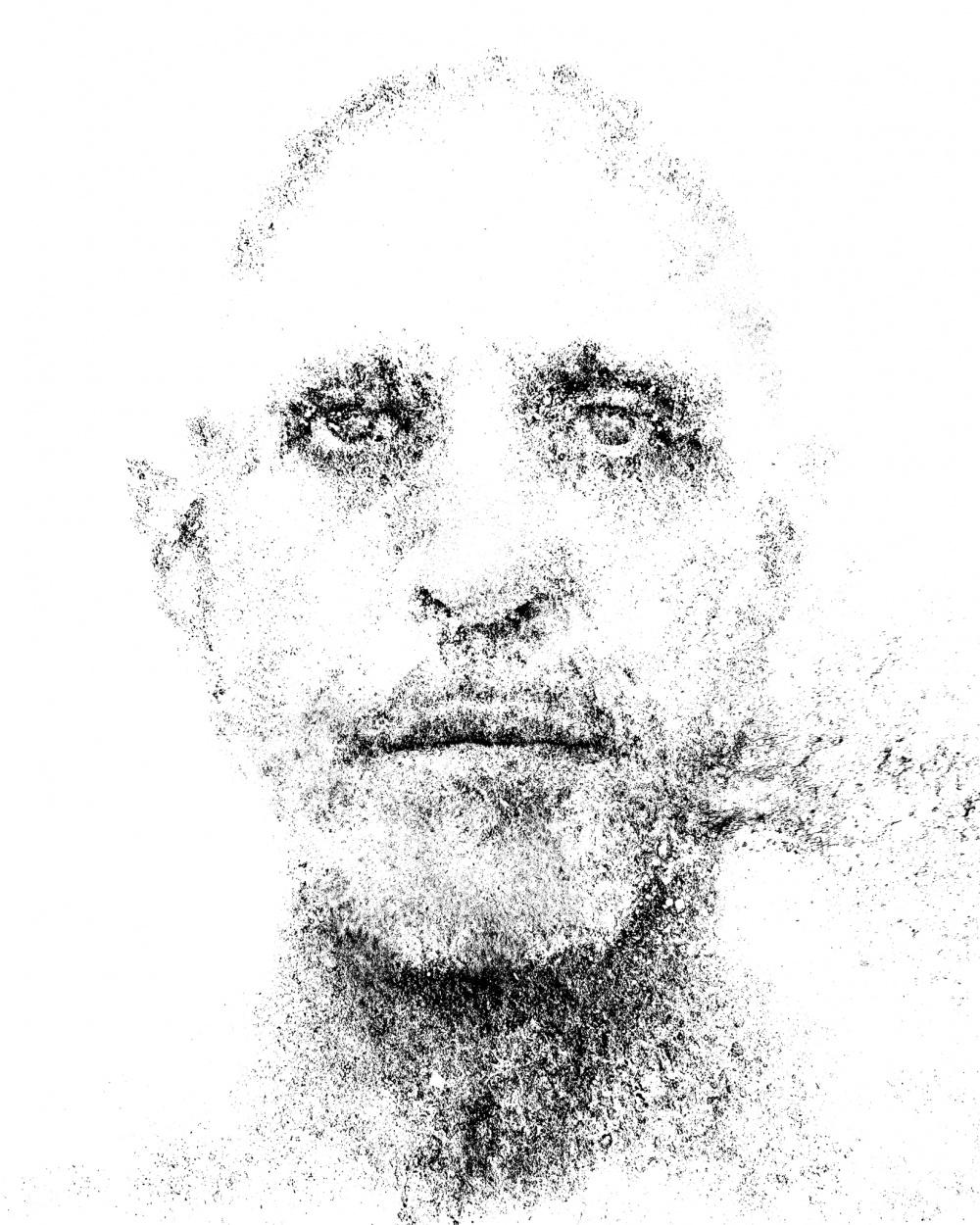Frank Rodick, untitled self no. 75, 2017