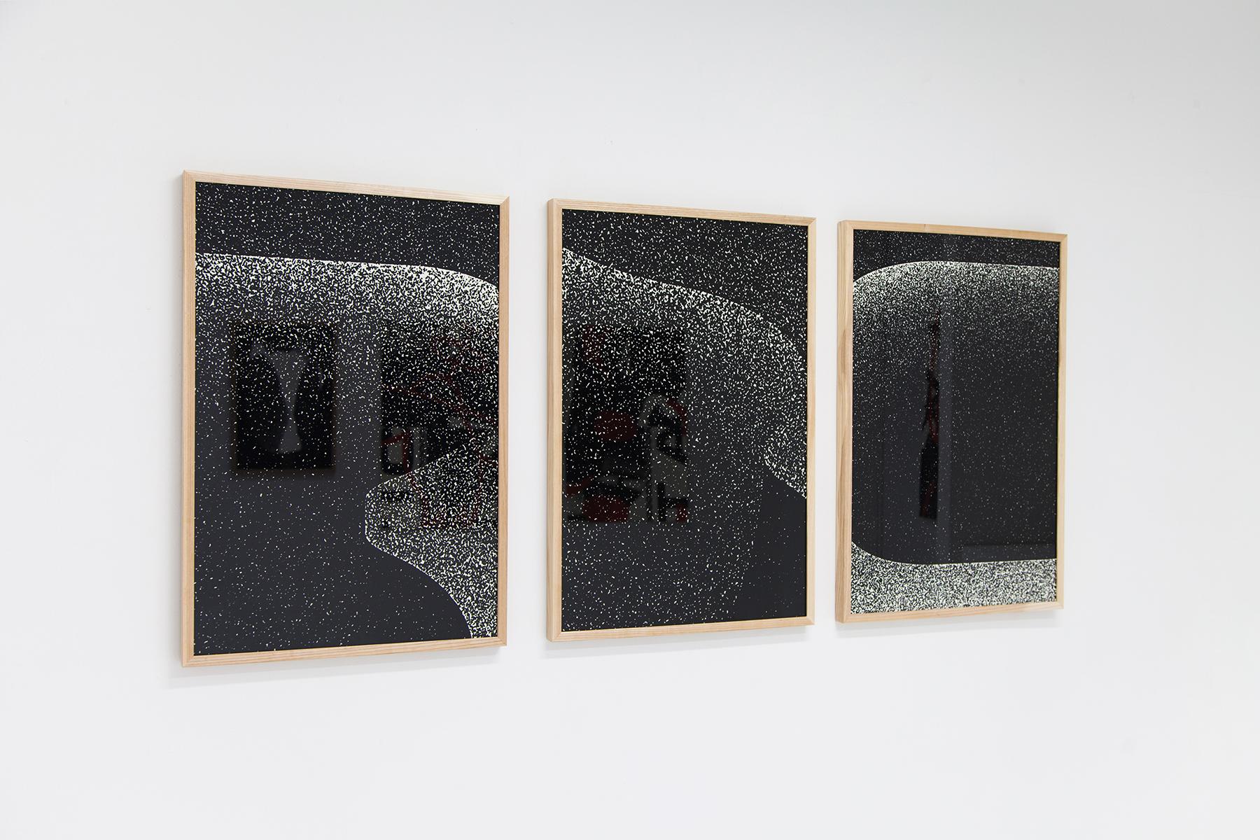 Sebastián Rodríguez Besa, Untitled, Installation view, 2017.