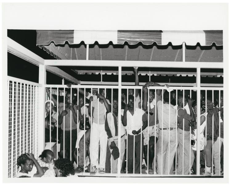 "Al Peabody, Not Soweto, 1985. Silver gelatin print, 8x10"". © Al Peabody"