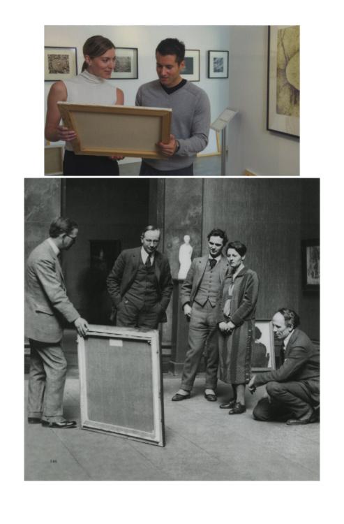 "Luis Jacob, Album XIV, (detail), 2016-17. Image montage in plastic laminate, 104 panels.  17 1/2 × 11 1/2"" each panel. Courtesy of the artist."