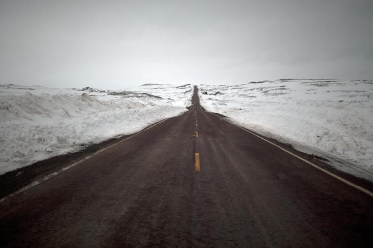 Johan Hallberg-Campbell, Coastal Road, Newfoundland, 2011. Courtesy of the artist.