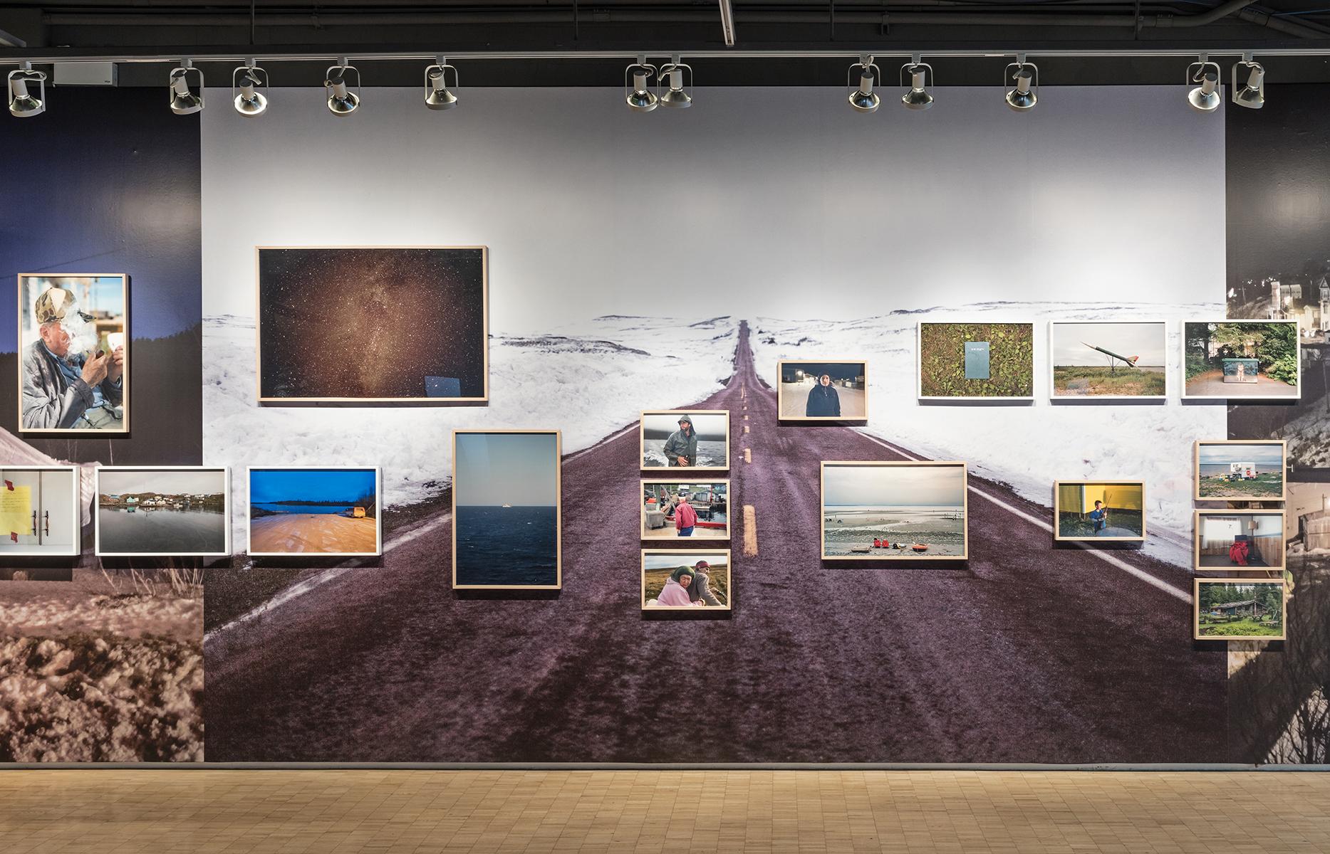 Installation view of Johan Hallberg-Campbell, Coastal, photo by Toni Hafkenscheid.