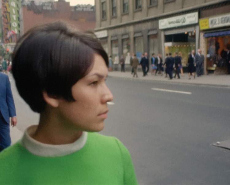 NFB Archives. Film still from Caroline Monnet's  , Mobilize, from the series Souvenir, 2015 ©National Film Board of Canada.