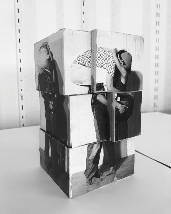 Valérie Blass, Étude Préliminaire, Maquette, One Piece Mohair, 2017. Courtesy of Catriona Jeffries Gallery, Vancouver.