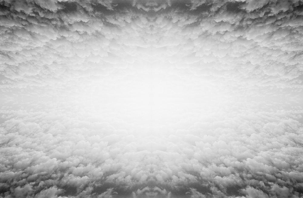 "Aaron Friend Lettner, Clouds, p.42-43, 2017. Book, 8 x 10.5""."