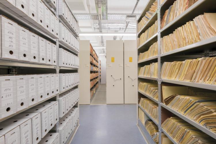 "Adrian Fish, Stasi Archives #3692, Archival pigment print, 36x24""."