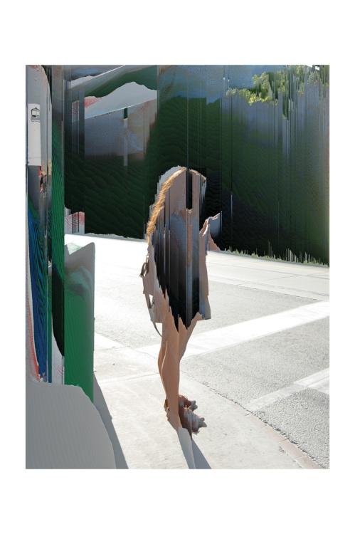 """Cheryl Sourkes, Connext: Handheld, 2013. Archival pigment print, 44x60""""."""