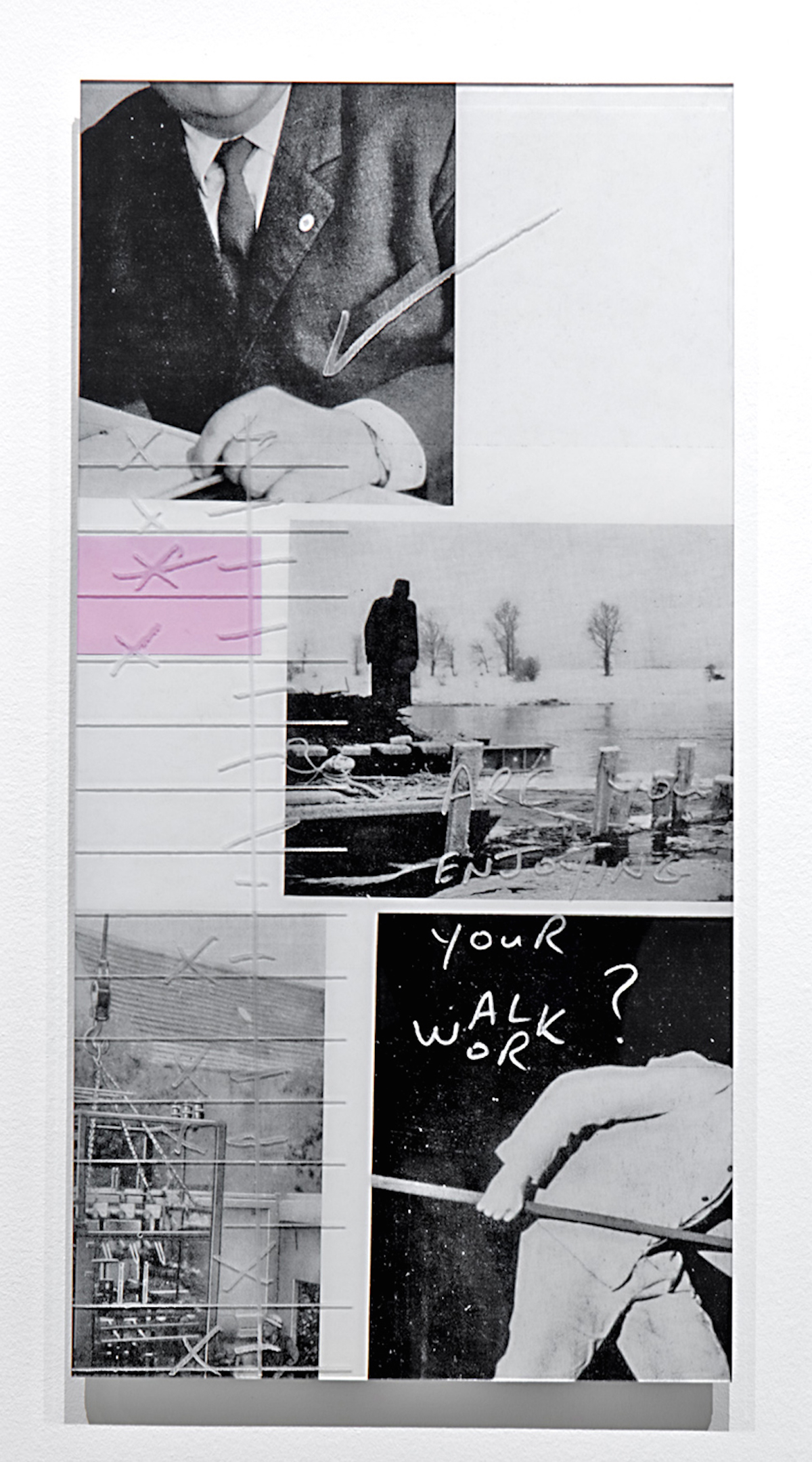 Jacob Whibley, Are you enjoying your walk work, 2016
