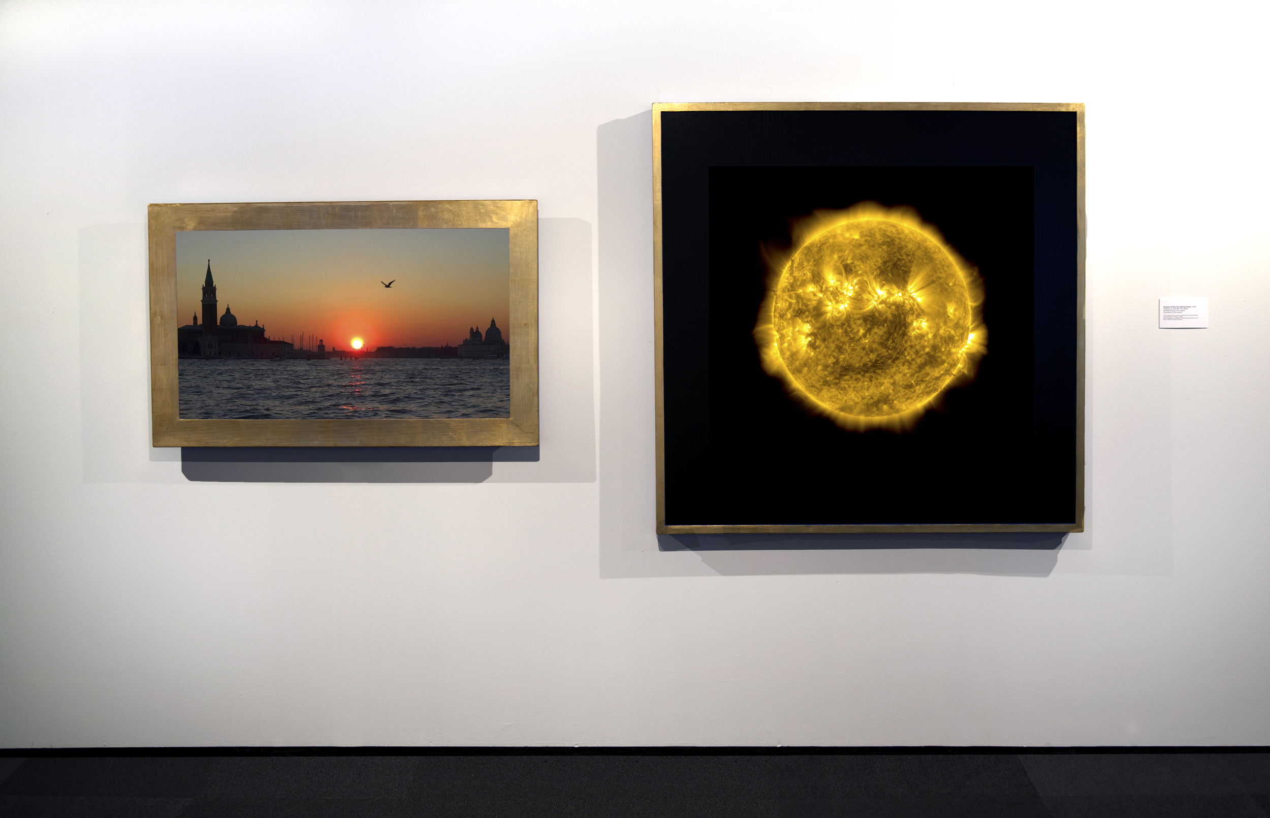 Dan Hudson, Illusion of the Sun Going Down (2 channel video), 2015