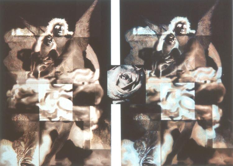 Parvaneh Radmard, B16: Eternal Growths, Two Angels, 2013