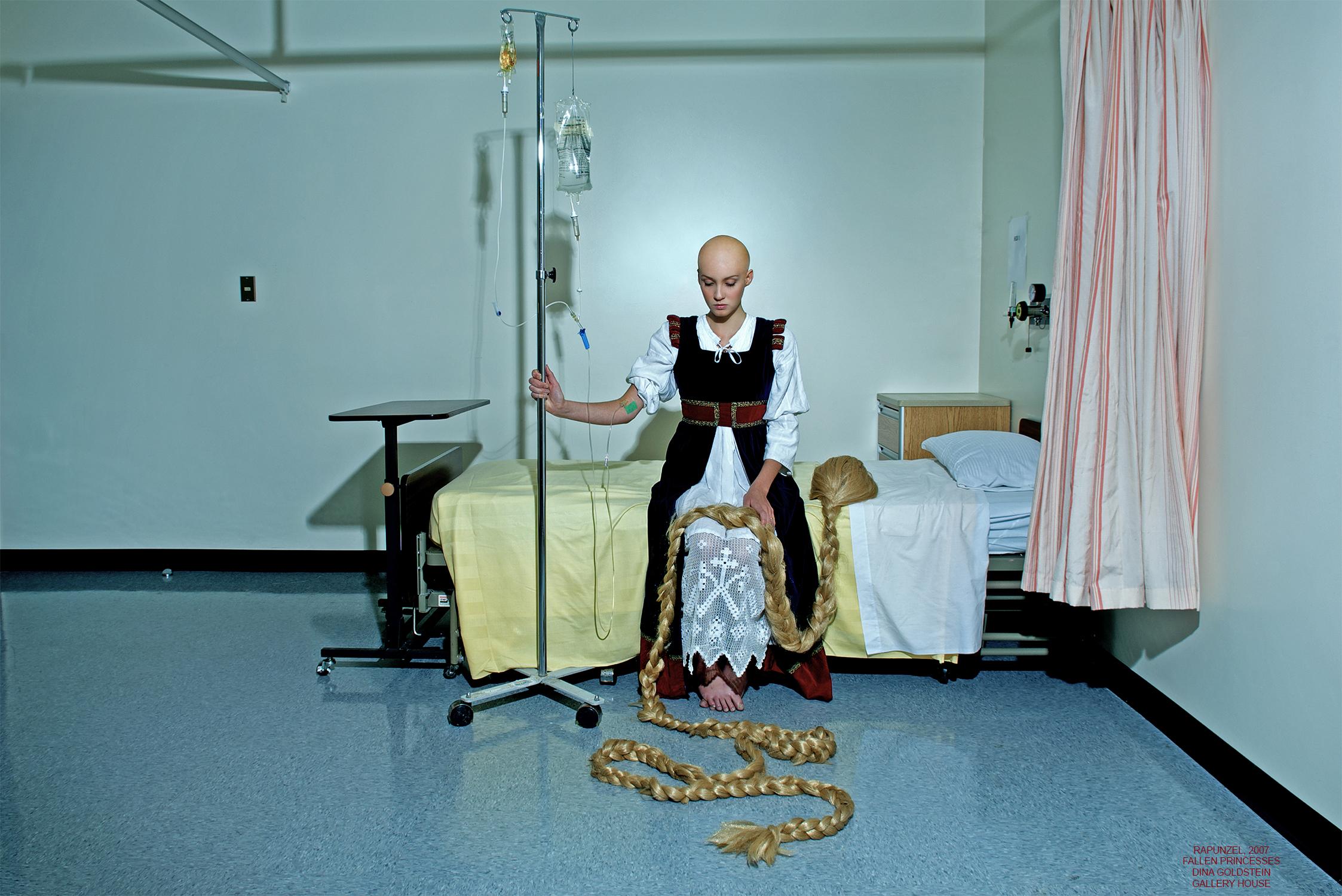 Dina Goldstein, Rapunzel, 2007