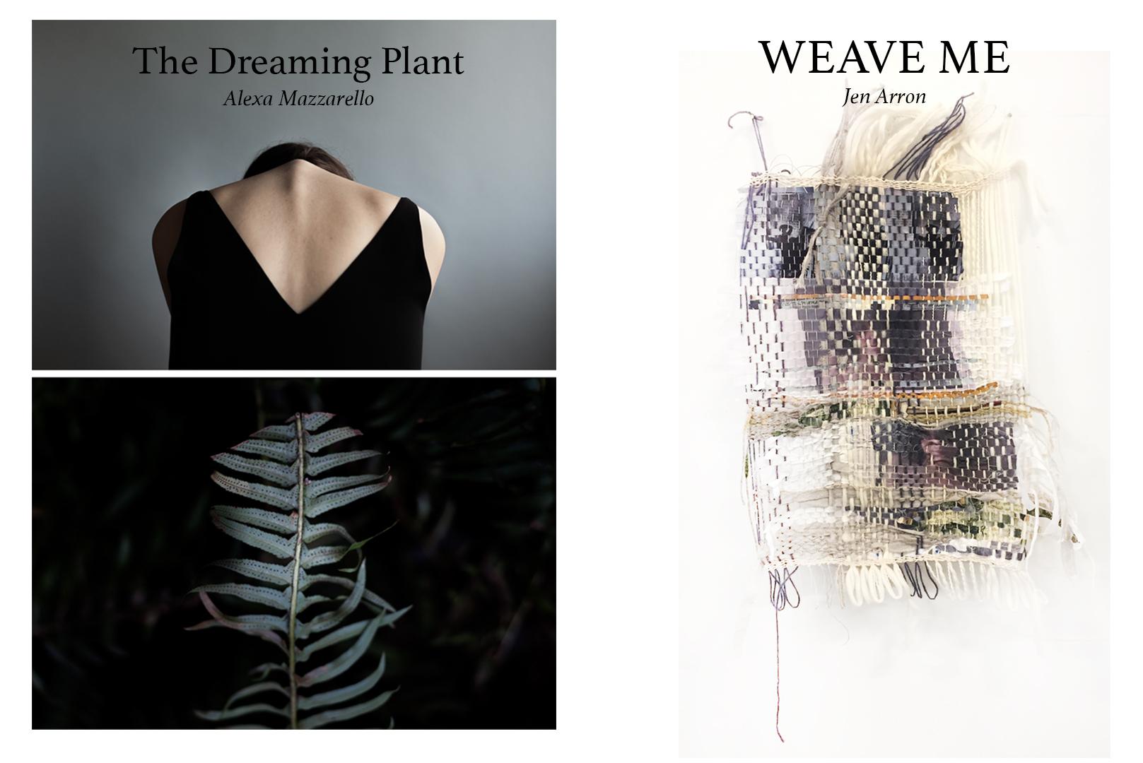 Alexa Mazzarello and Jen Arron, THE DREAMING PLANT x WEAVE ME