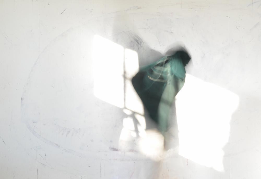 Nava Waxman, Green Polyphony Stills #3, 2017
