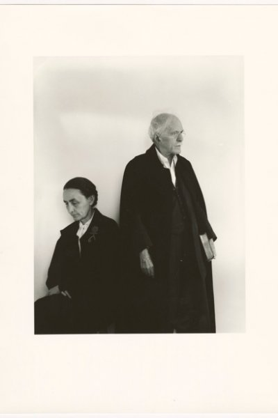 Arnold Newman, Alfred Stieglitz and Georgia O'Keeffe, 17/04/1944. Gelatin silver print, 35.6 x 27.9 cm. Art Gallery of Ontario. Anonymous Gift, 2012. © Arnold Newman Properties/Getty Images 2017