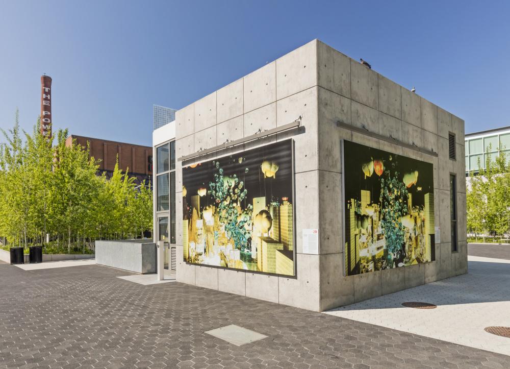 Installation view of Alex McLeod, SPOTLIGHT, Photo: Toni Hafkenscheid