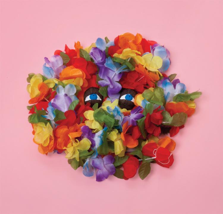 """Sebastián Benítez, Floral from the series Feint, 2016. Archival pigment print, 16 x 16""""."""