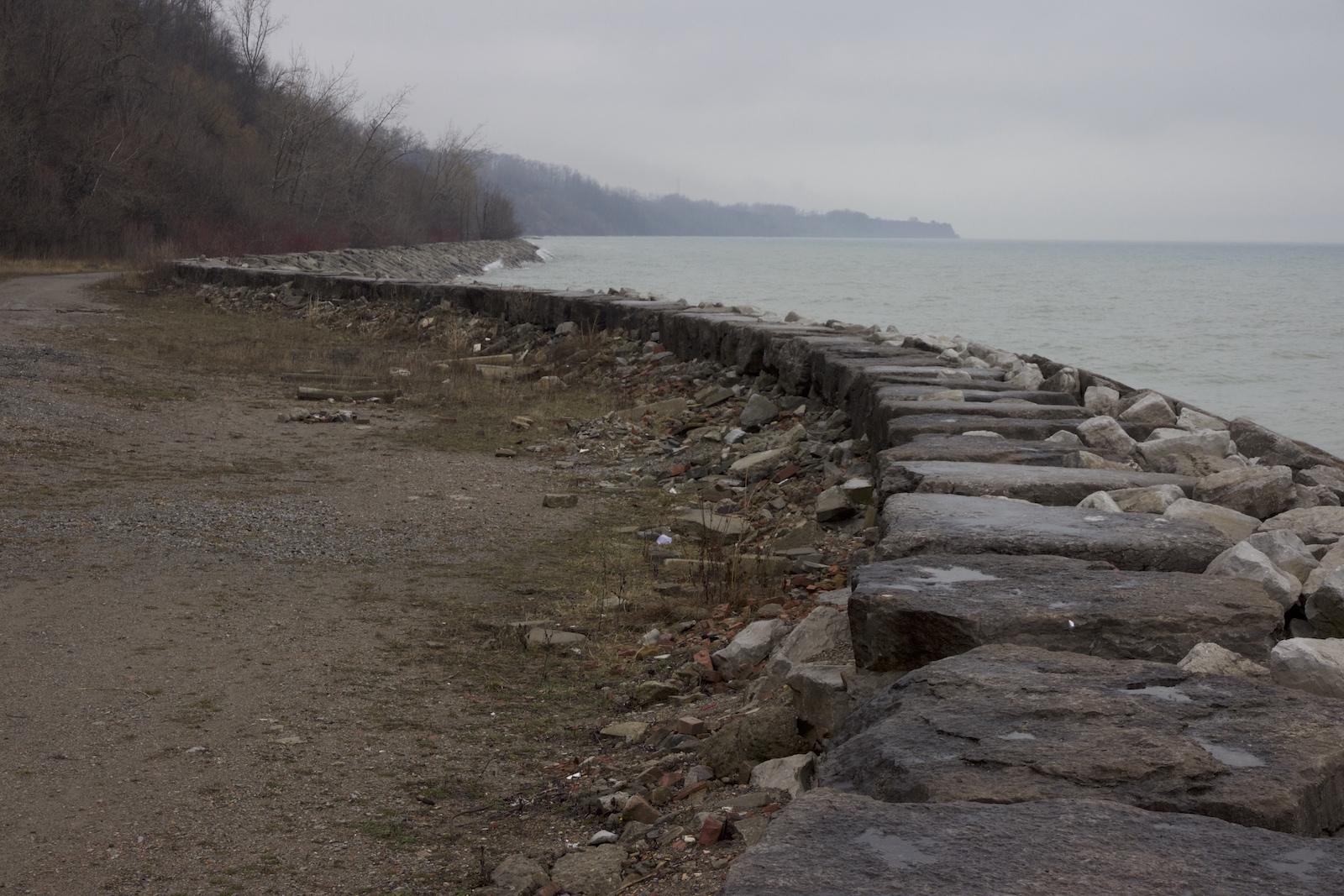 Jennifer Falvy, East Guildwood Curve, Lake Ontario Shoreline, 2016
