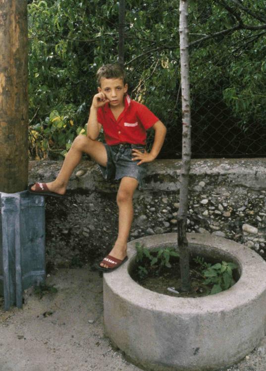 Bruno Mediati, Boy in Red Shirt, 1990