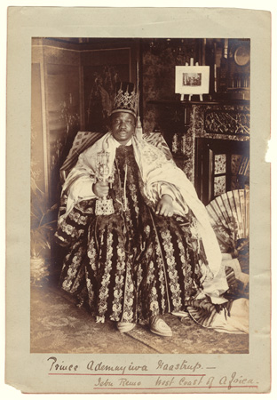 Francis W. Joaque (French), West African King, c1890 Courtesy of Archive of Modern Conflict, London