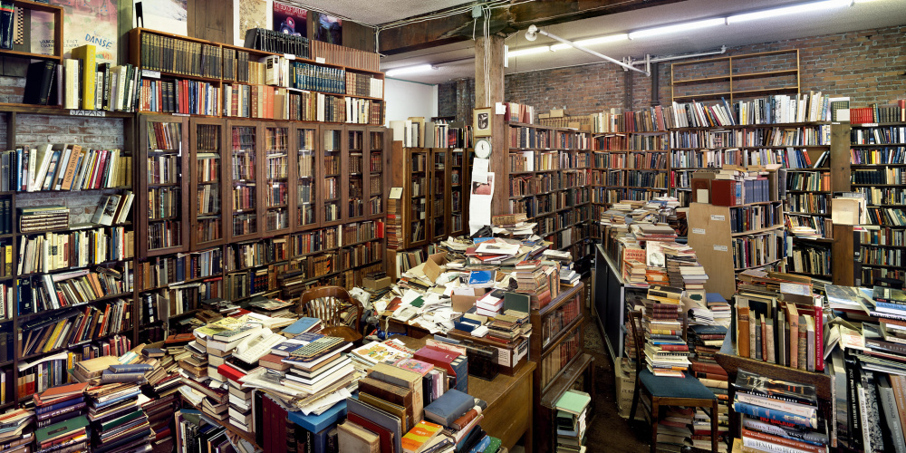 Stan Douglas, MacLeod's Books, Vancouver, 2006 Courtesy the artist and David Zwirner, New York, London, and Victoria Miro, London