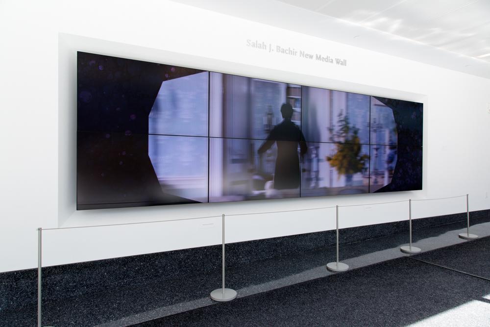 Aleesa Cohene and Benny Nemerofsky Ramsay: The Same Problem 5, (installation view) 2014 © Eugen Sakhnenko, Ryerson Image Centre