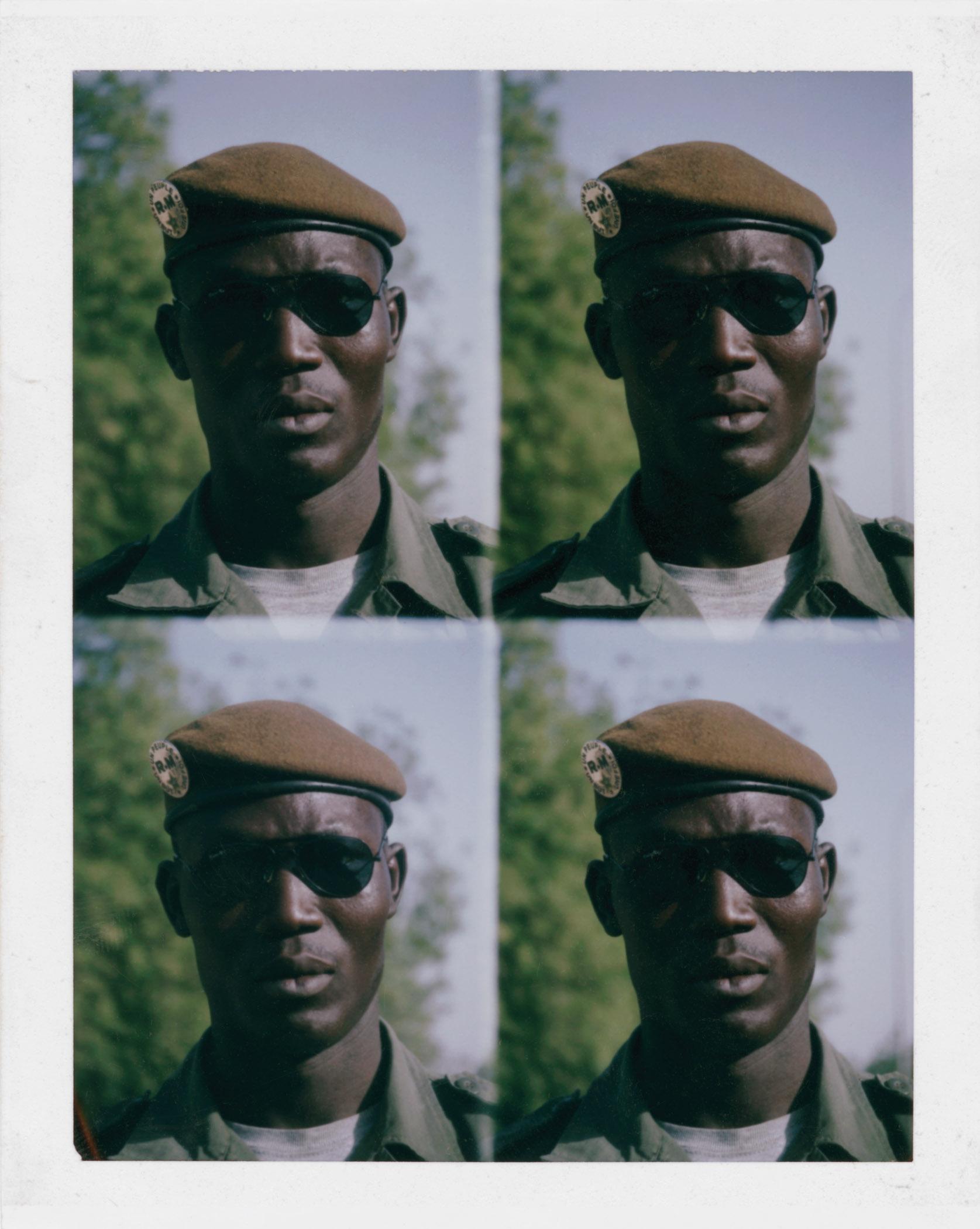 Émilie Régnier, Portrait of Sidiyaya Diakate, a member of the national guards, Bamako, Mali, 2013