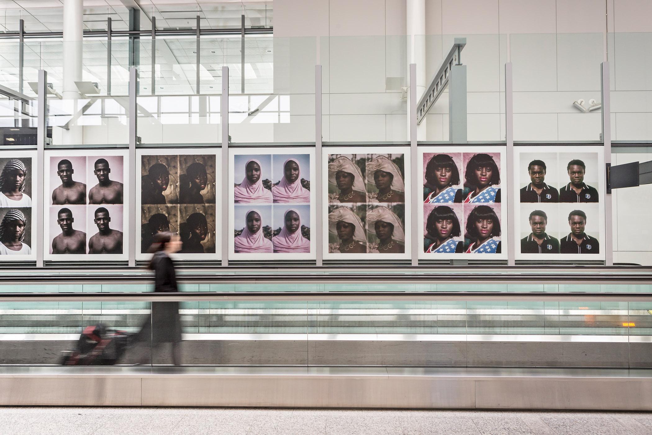 Installation view of Émilie Régnier Passport at Pearson International Airport, ,  Photo: Toni Hafkenscheid