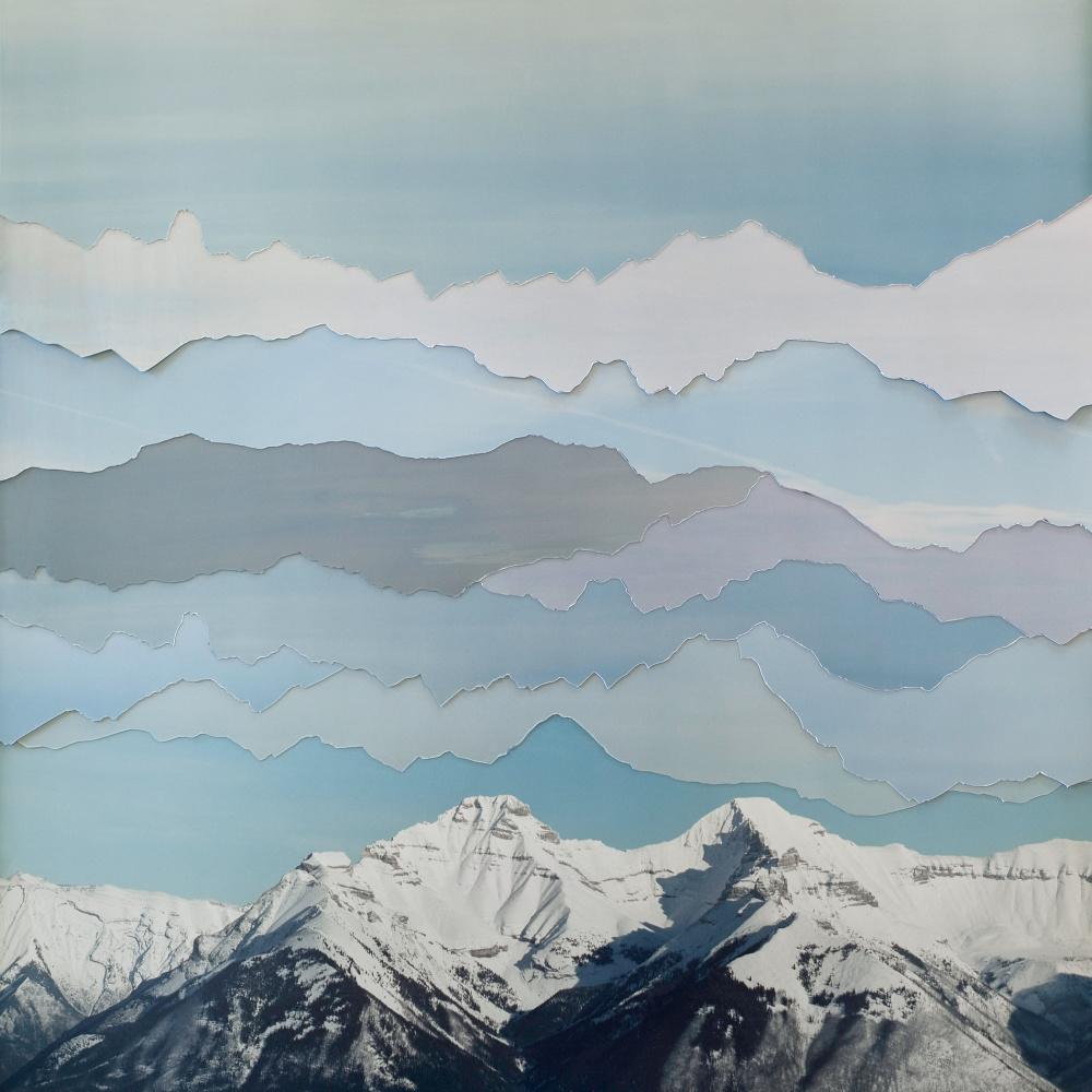 Becky Comber, Banff Sky, from the series Broken Horizons, 2013