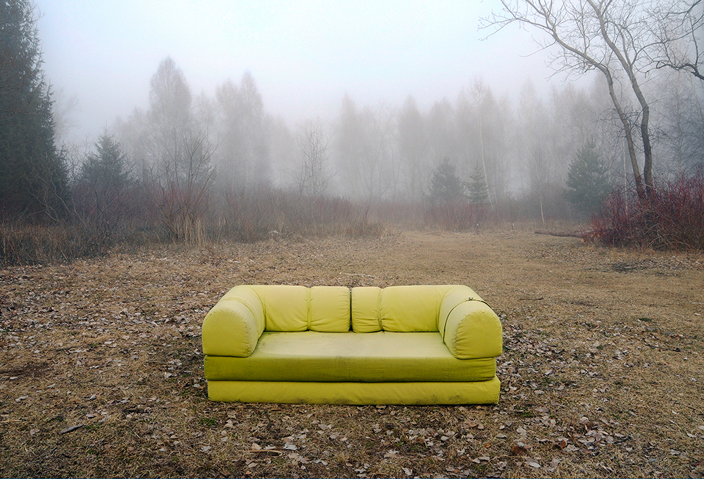 Claudette Abrams, Couch, 2013