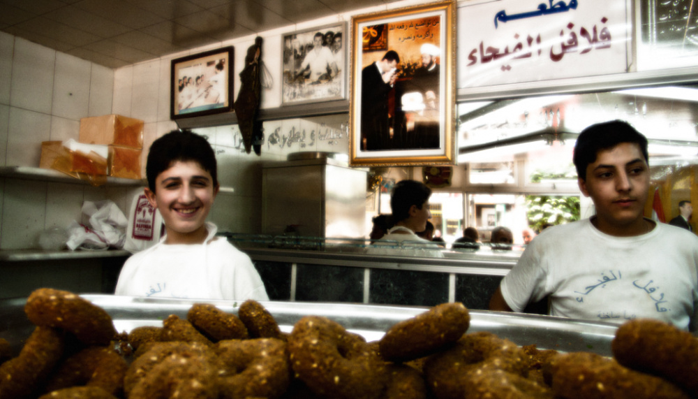 So Young Lee, Falafels of Peace in Aleppo, Syria, 2012