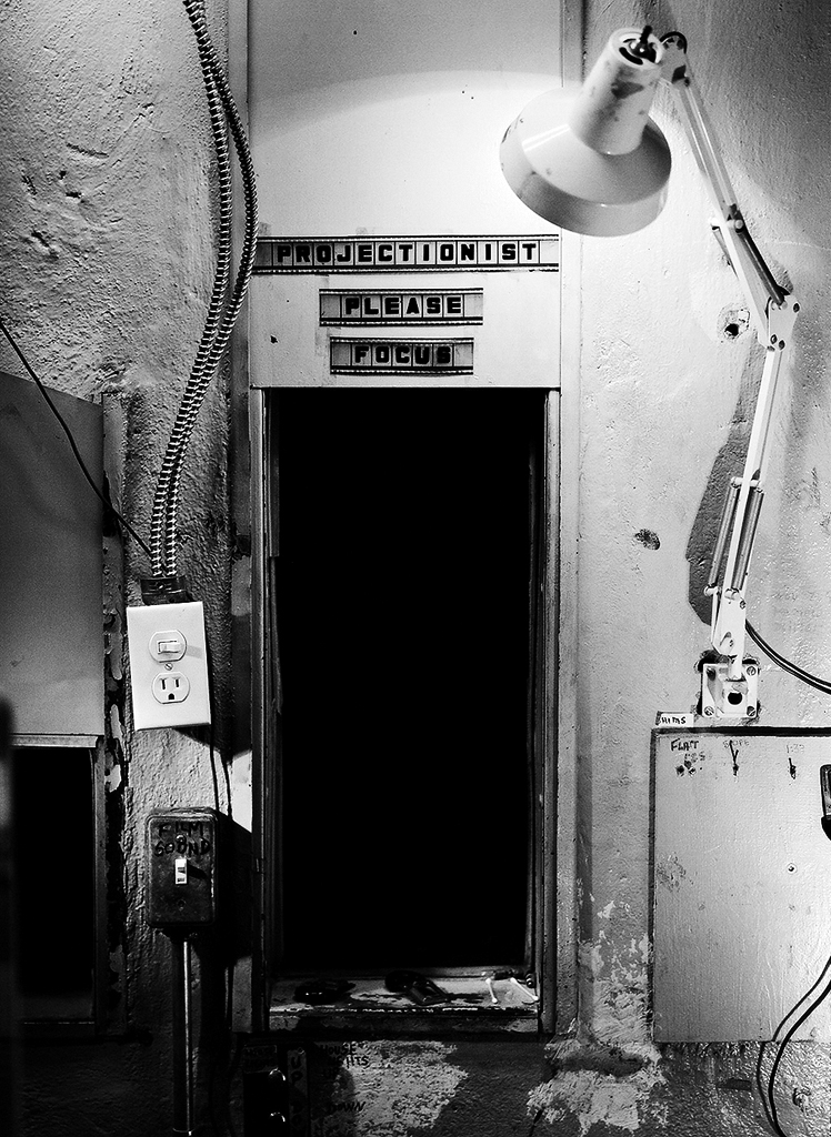 Stephen McNeill, Projectionist Please Focus, 2012