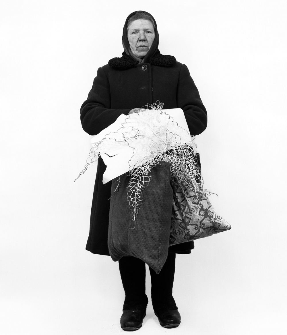 Vitas Luckus, Against a White Background, 1987