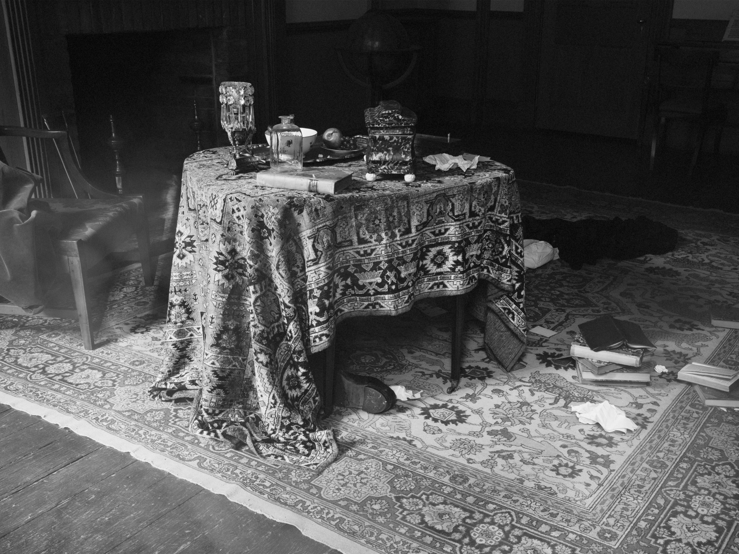 Tereza Zelenkova, Drawing Room, Campbell House, 2020. Courtesy of the artist and Ravestijn Gallery, Amsterdam