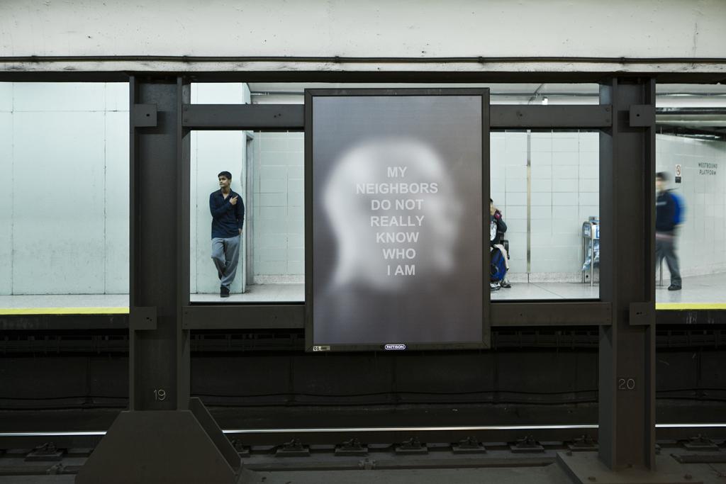 Derek Besant, Public Spaces/Private Thoughts, 2012 Image credit Toni Hafkenscheid