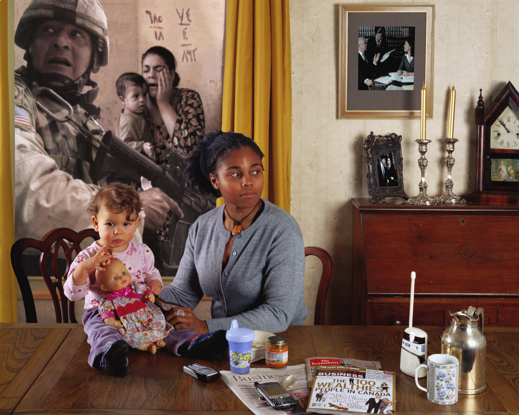 Carole Condé & Karl Beveridge, Work In Progress, 2006 (Iraq), 1980-2006