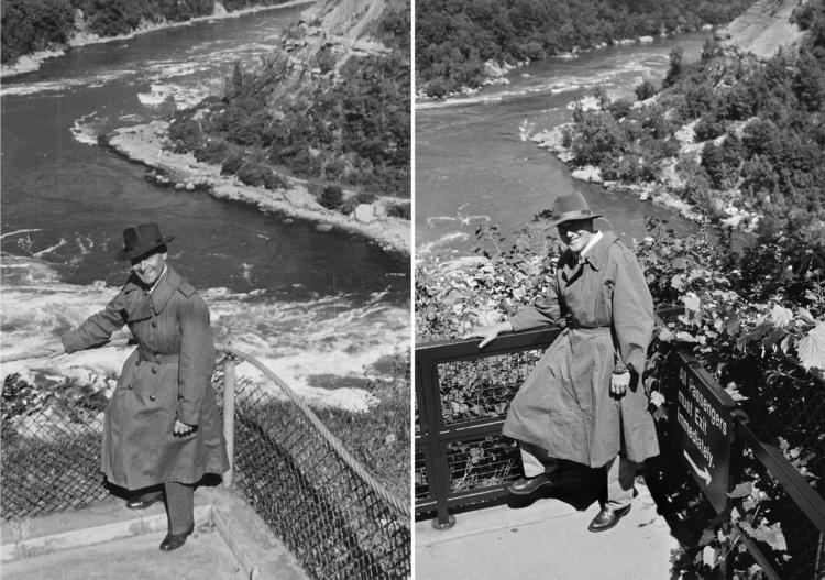 Un état des lieux / Bruno Rosier, Rapides du Niagara / 1952-2002, 17cm x 12cm
