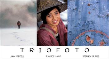 Stephen Burnie, Ramses Moya, John Riddell, TrioFoto Promo, 2006